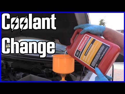 How to Replace Coolant Ford F-150 5.4L 2004-2008