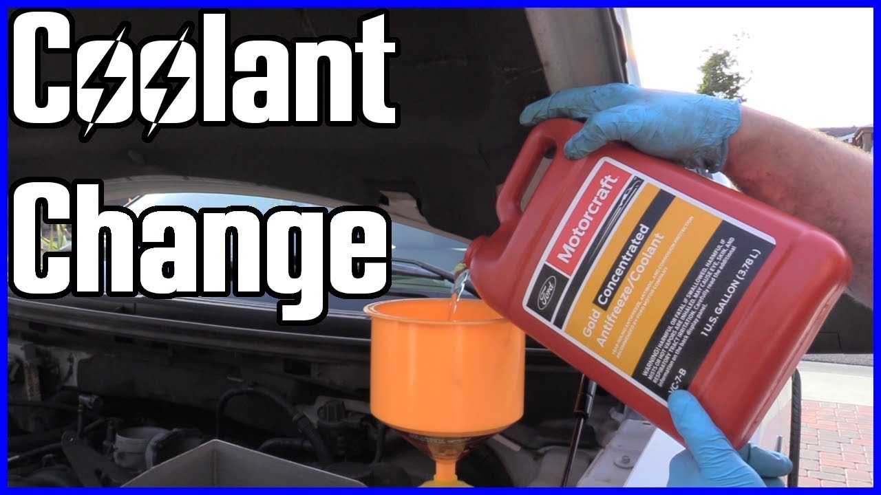 how to replace coolant ford f 150 5 4l 2004 2008 [ 1280 x 720 Pixel ]