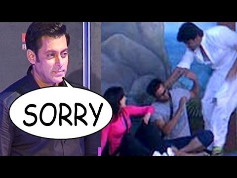 Bigg Boss : Salman Khan says SORRY to ...