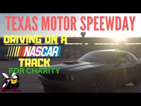 2018 Challenger Texas Motor Speedway Laps For Charity