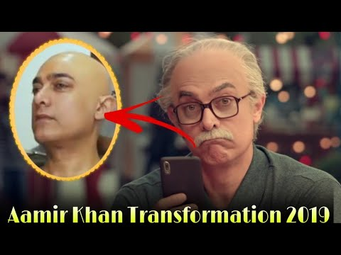 Aamir Khan Transforms Into an Old Man Beyond Recognition; See Video