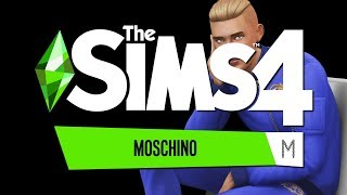 LIVE First Look The Sims 4 MOSCHINO Akcesoria