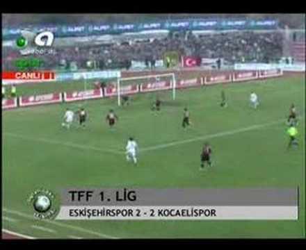 2007-2008 Eskişehirspor 2 Kocaelispor 2 | Egemen Şehitli
