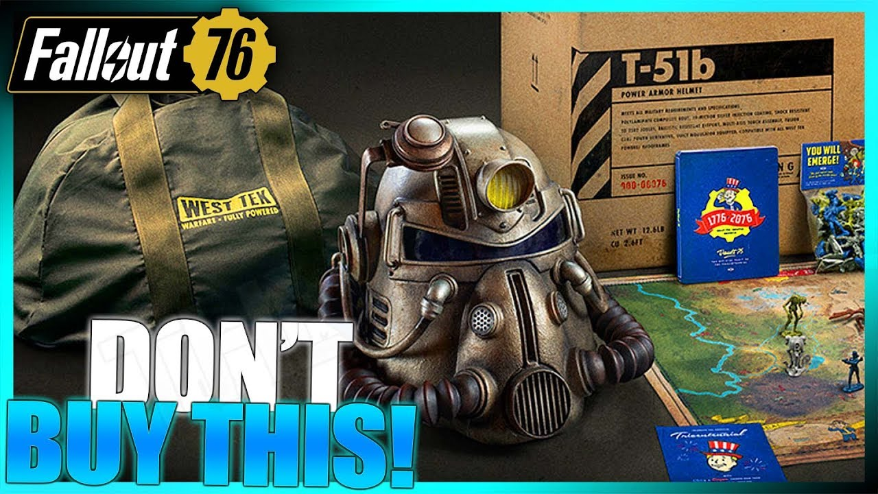 Why You Shouldnt Purchase The Fallout 76 Power Armor Edition Buyer Beware YouTube