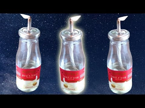 How To Make Amazing Night Lamp With Bottle Stand From Plastic Bottle For Youtube Video 2019
