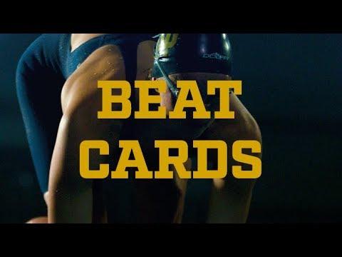 Notre Dame Swimming & Diving - Go Irish, Beat Cards