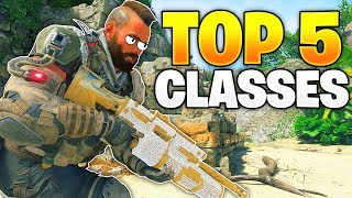 TOP 5 OVERPOWERED Class Setups in Black Ops 4! (BO4 Best Classes)