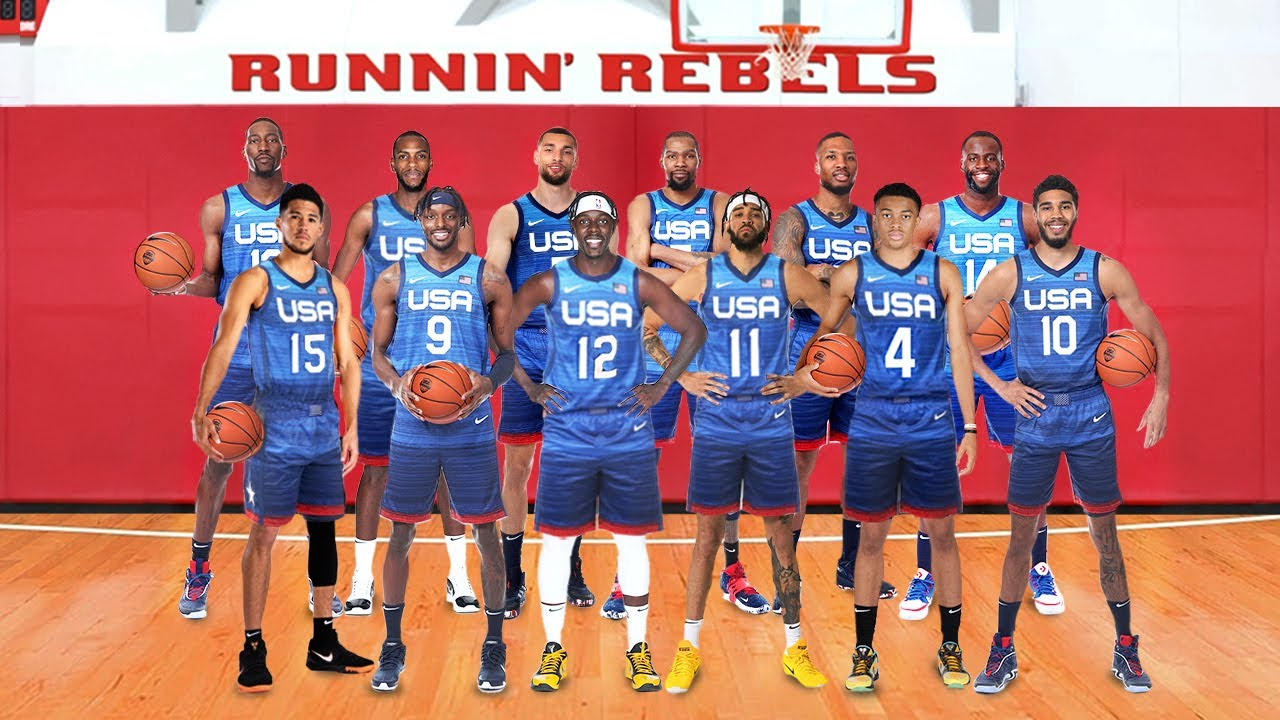 TEAM USA SQUAD-CAN THEY BRING THE GOLD MEDAL HOME!!?!!
