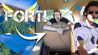 We Made An Airplane BOX FORT! *Flying Fort*