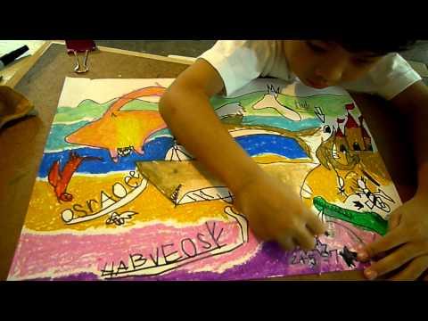 ศิลปะเด็กสอนระบายสีสตูดิโออาร์ต.MOV