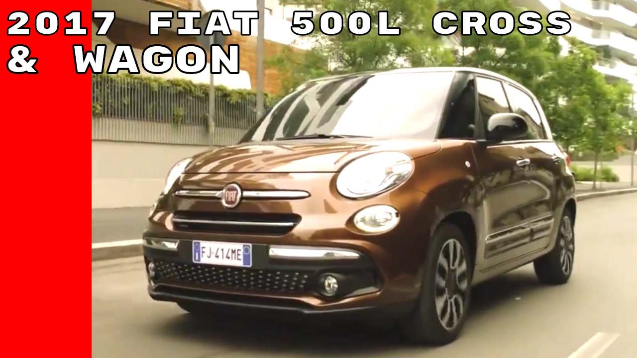 2017 fiat 500l cross 500l wagon drive exterior. Black Bedroom Furniture Sets. Home Design Ideas