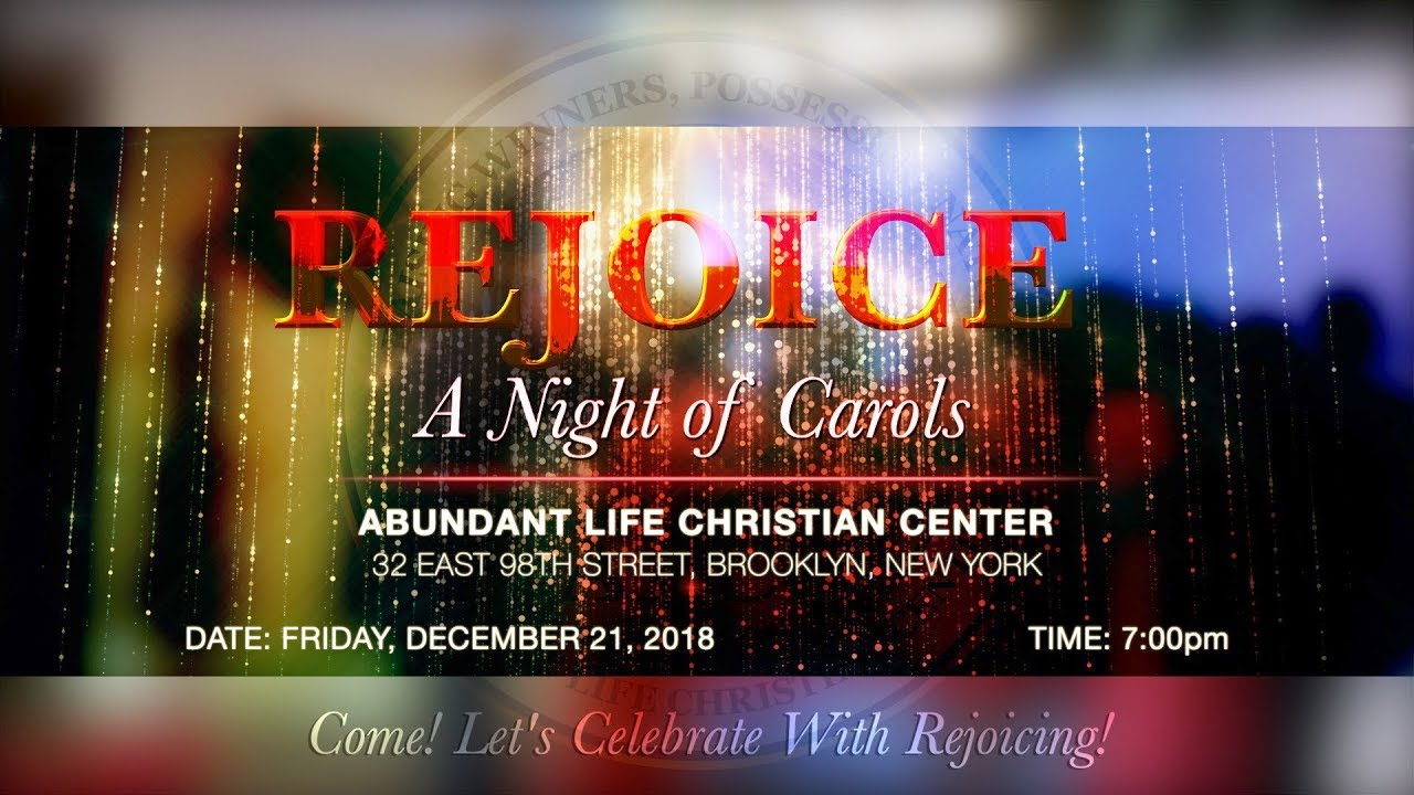 ALCC REJOICE 2018_A Night of Carols