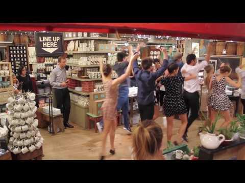 ABT Flashmob At Fishs Eddy