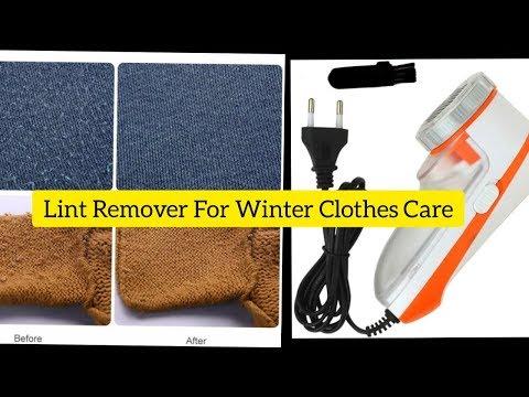 Nova Lint Remover, Fabric Shaver for Winter Clothes Care ?