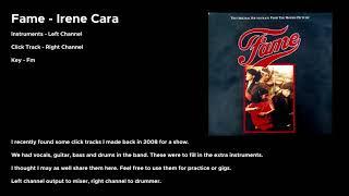 Fame - Irene Cara Click Track