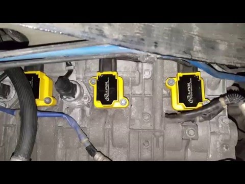 How to Change the Spark Plugs and Coils in a Porsche Cayman