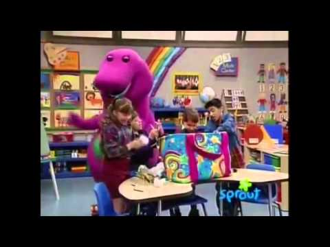 barney the barney bag it s tradition s version youtube