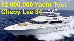 $2,000,000 Yacht Tour : 2006 Cheoy Lee 84