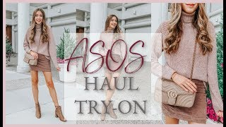 HUGE ASOS FALL CLOTHING HAUL + TRY ON    FALL HAUL WEEK   DAY 1