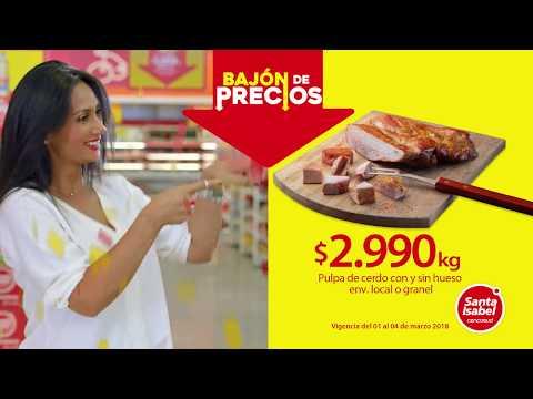Santa Isabel - Bajón de precios