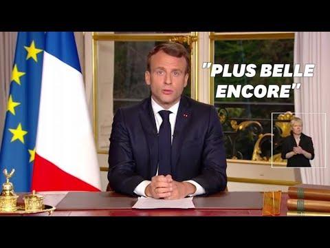 Bombardé d'imprévus, Emmanuel Macron n'est plus le maître des horloges de la communication