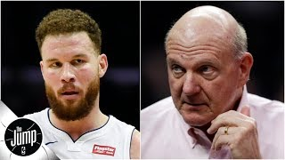Do you buy Blake Griffin's explanation for snubbing Steve Ballmer? | The Jump