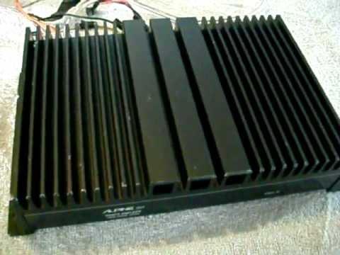 Alpine 3521 amplificador old school car Amplifier rms sq