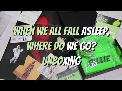 UNBOXING: WHEN WE ALL FALL ASLEEP, WHERE DO WE GO? SUPERFAN BOX (BILLIE EILISH)