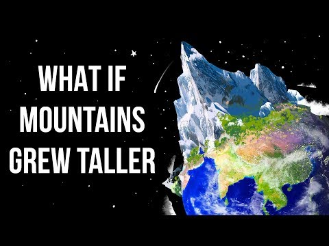 What If Mountains Continued To Grow All The Time