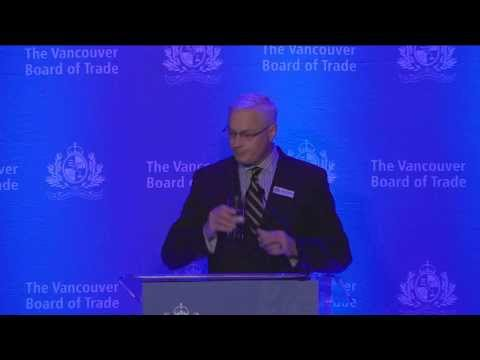 CEO Craig Richmond Gives Inaugural Address to Vancouver Board of Trade