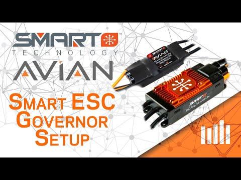 Avian ESC Governor Setup - Spektrum Smart ESC