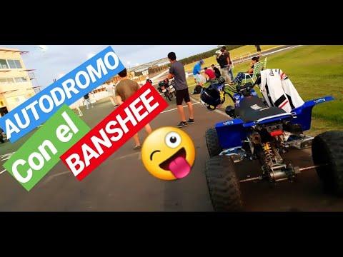 BANSHEE 350⚡⚡⚡  PICADAS AUTODROMO ! ! ! 🔥🔥🔥 LLEVAMOS EL BANSHEE AL AUTODROMO ! ! ! 😱😱😱