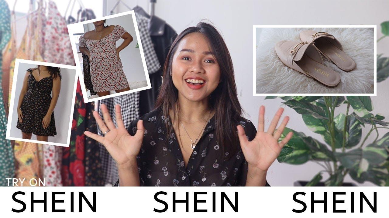 SHEIN TRY ON  SUMMER KLEIDER  ลองเดรสสำหรับหน้าร้อน - YouTube