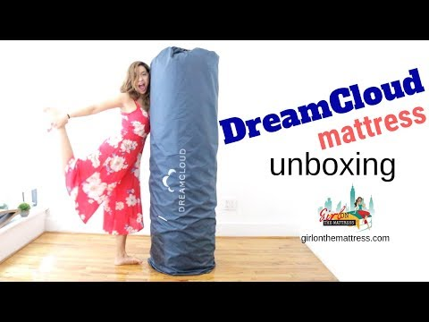 Dreamcloud Mattress Unboxing + Coupon + Giveaway