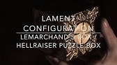 Etching a Lament Configuration Puzzle Box - YouTube on
