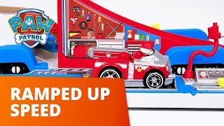 PAW Patrol  Ramped Up Speed  True Metal Toy Episode  PAW Patrol Official amp Friends