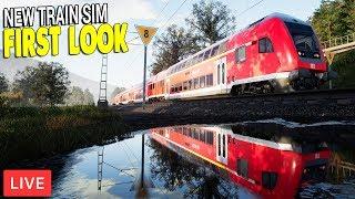 FIRST LOOK, JUST RELEASED NEW DLC | German Train Line | Train Sim World