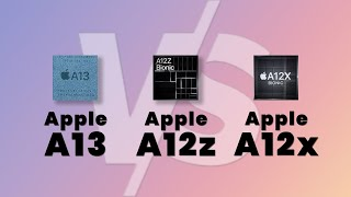 Apple A13 VS A12X VS A12Z Bionic Chip Comparison | specifications and Benchmark | Hindi