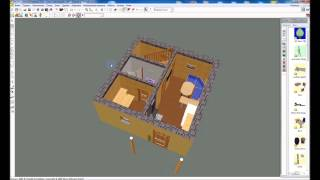 видео проект бани из бруса 6х6 с мансардой
