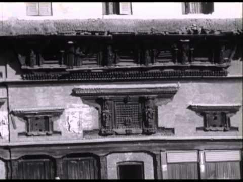 50 - Nepal, Kathmandu Valley, 1966. B&W, silent