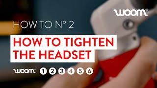 How to tighten tнe headset of a kids' bike / woom