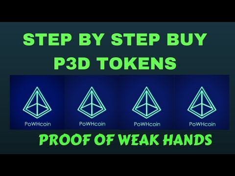 Proof Of Weak Hands Step By Step Explained !!!!!!