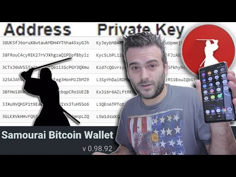Private Keys From The Samurai Bitcoin Wallet For Android