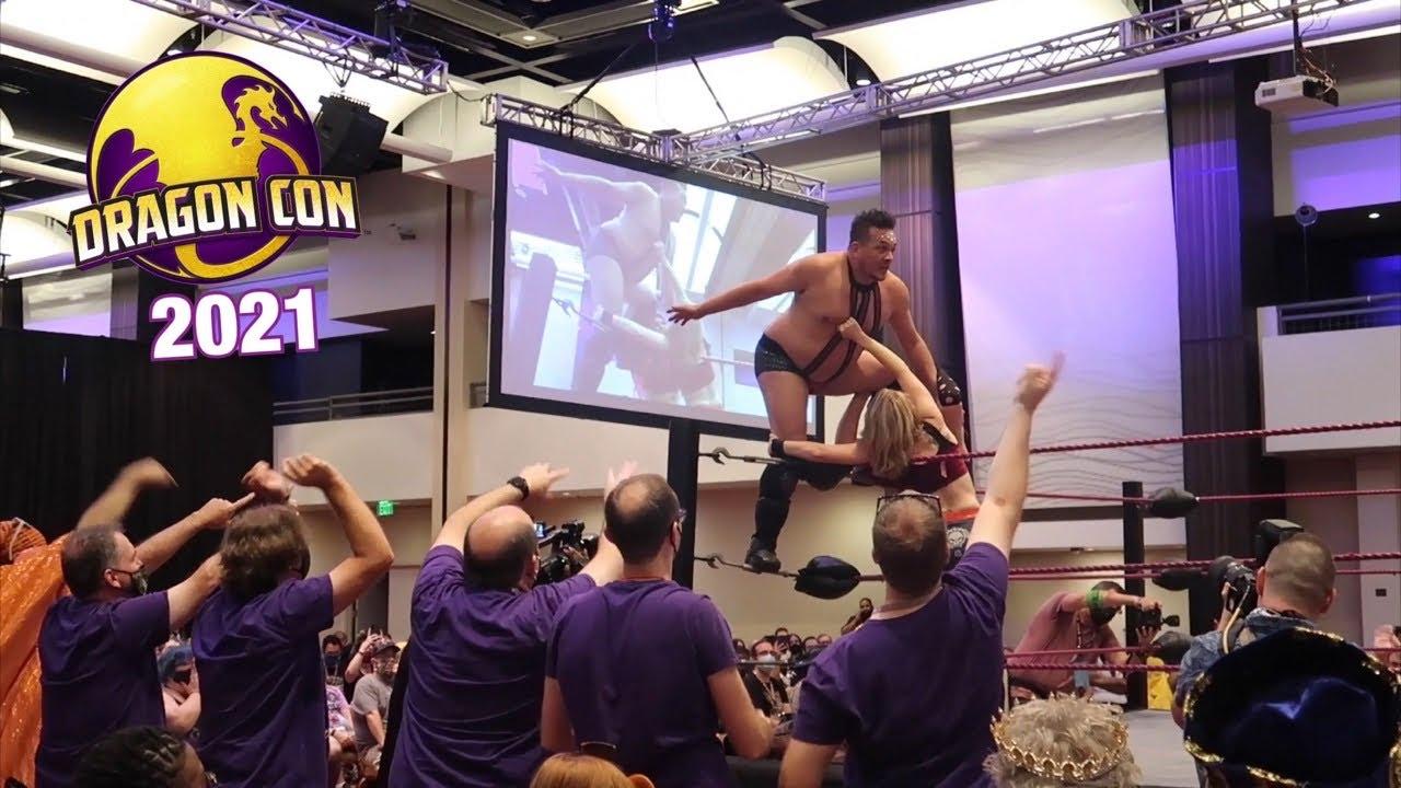 Download DragonCon 2021 First Day - Atlanta Hotels & Venue Tour - Crazy Ticket Line - Epic Wrestling Match