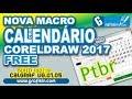 Calendário CalGraf V1 Macro PTBR CorelDRAW X7 X8 2017 mp3