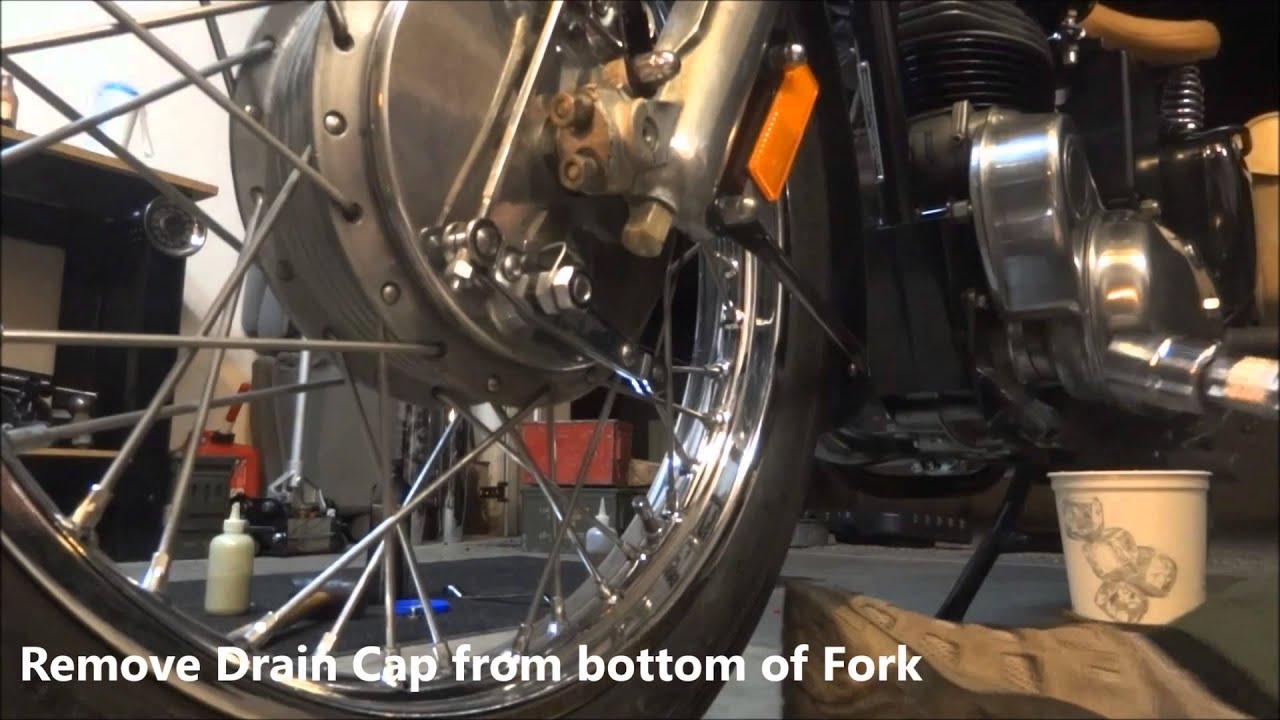 Royal Enfield Fork Oil Change