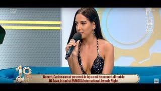 Carine, aparitie de senzatie la Neatza! Artista a lansat prima sa piesa solo