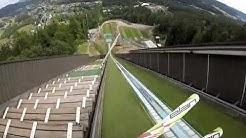 113m in Hinterzarten K95 Gopro jump