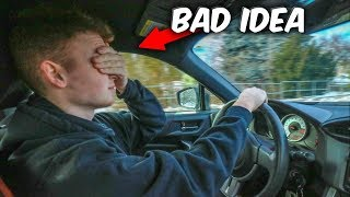 Driving With My Eyes Closed... (VERY DANGEROUS)