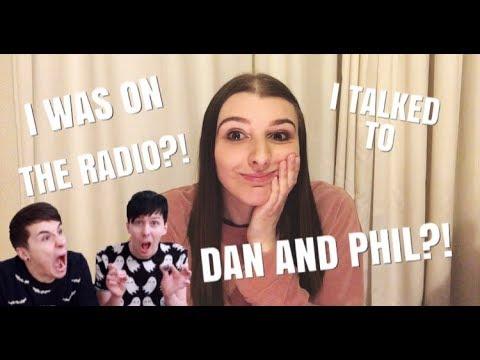I TALKED TO DAN & PHIL ON THE RADIO?!